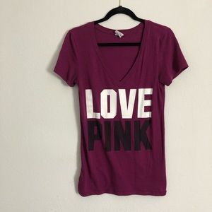 LOVE PINK V-Neck tee shirt